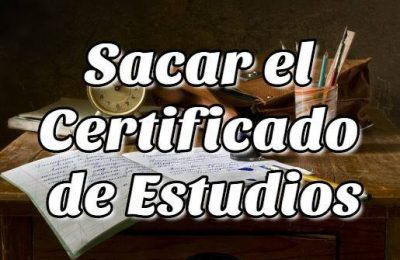 Cómo sacar el Certificado de Estudios en Chile