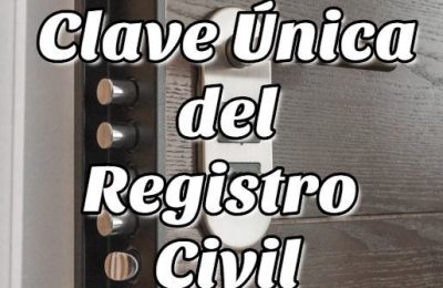 Clave Única del Registro Civil