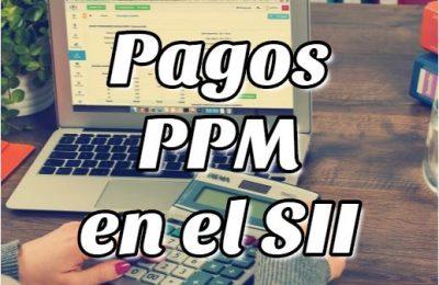 PPM Pagos Provisionales Mensuales en SII