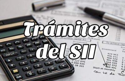 Trámites Online del Servicio de Impuestos Internos SII