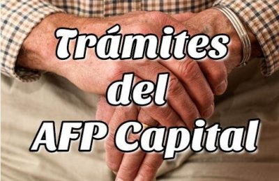 Trámites del AFP Capital