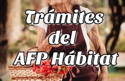 Trámites del AFP Hábitat