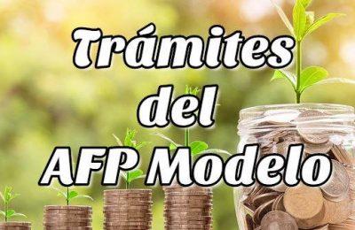 Trámites del AFP Modelo