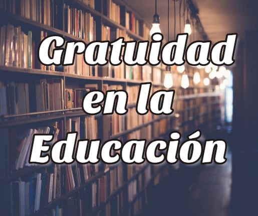 Gratuidad en la educación