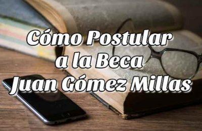 beca Juan Gómez Millas
