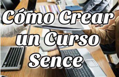 crear curso sence 1