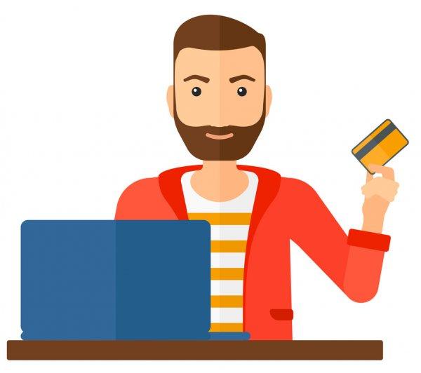 ᐈ Persona pagando animado de stock, vectores vector persona pagando   descargar en Depositphotos®