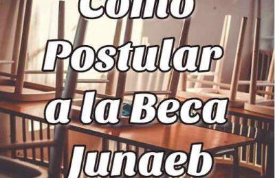 postular beca Junaeb