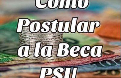 postular beca PSU