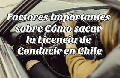 sacar licencia conducir Chile