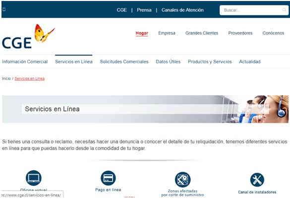 boleta Luz CGE 7