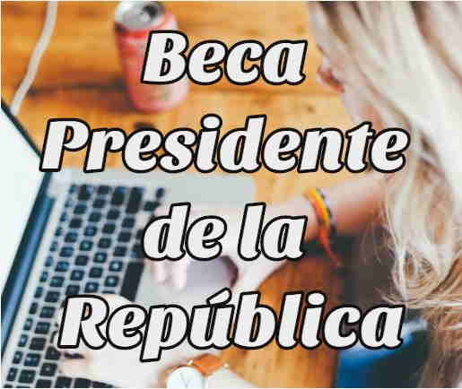 beca presidente de la república
