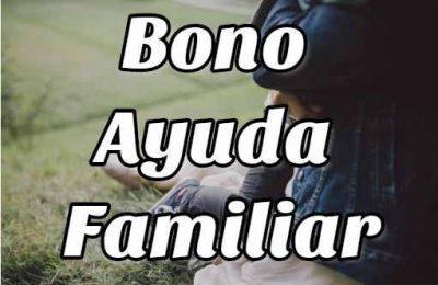 bono ayuda familiar