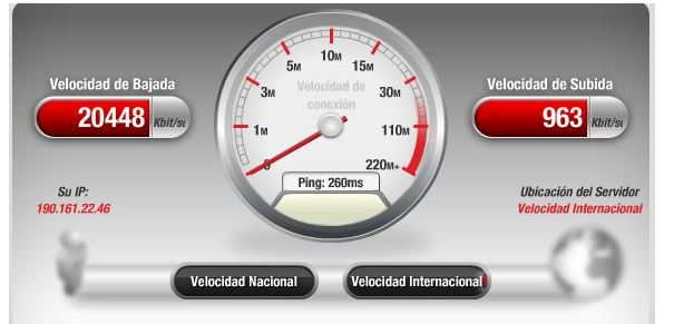 Test velocidad 6
