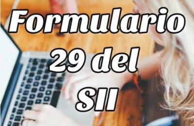 formulario 29 SII