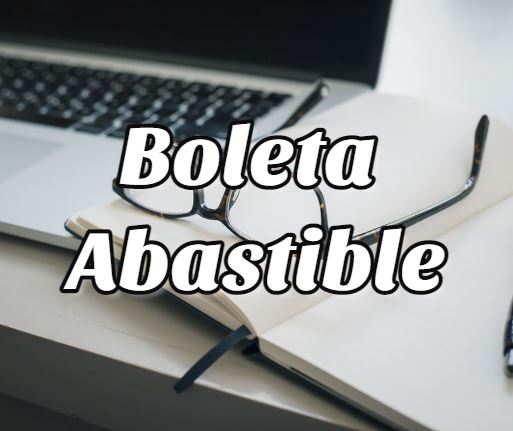 boleta abastible