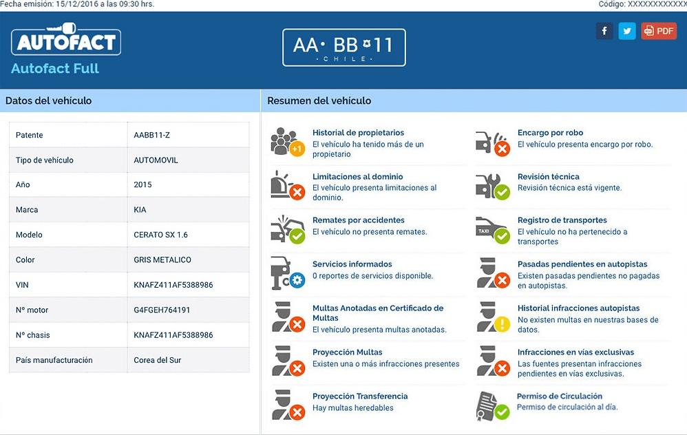 Elige tu vehículo con Autofact!